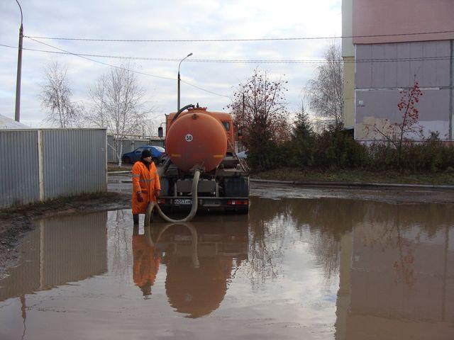 Откачка воды в Нахабино
